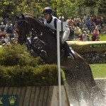 Allison Springer and Arthur at Rolex