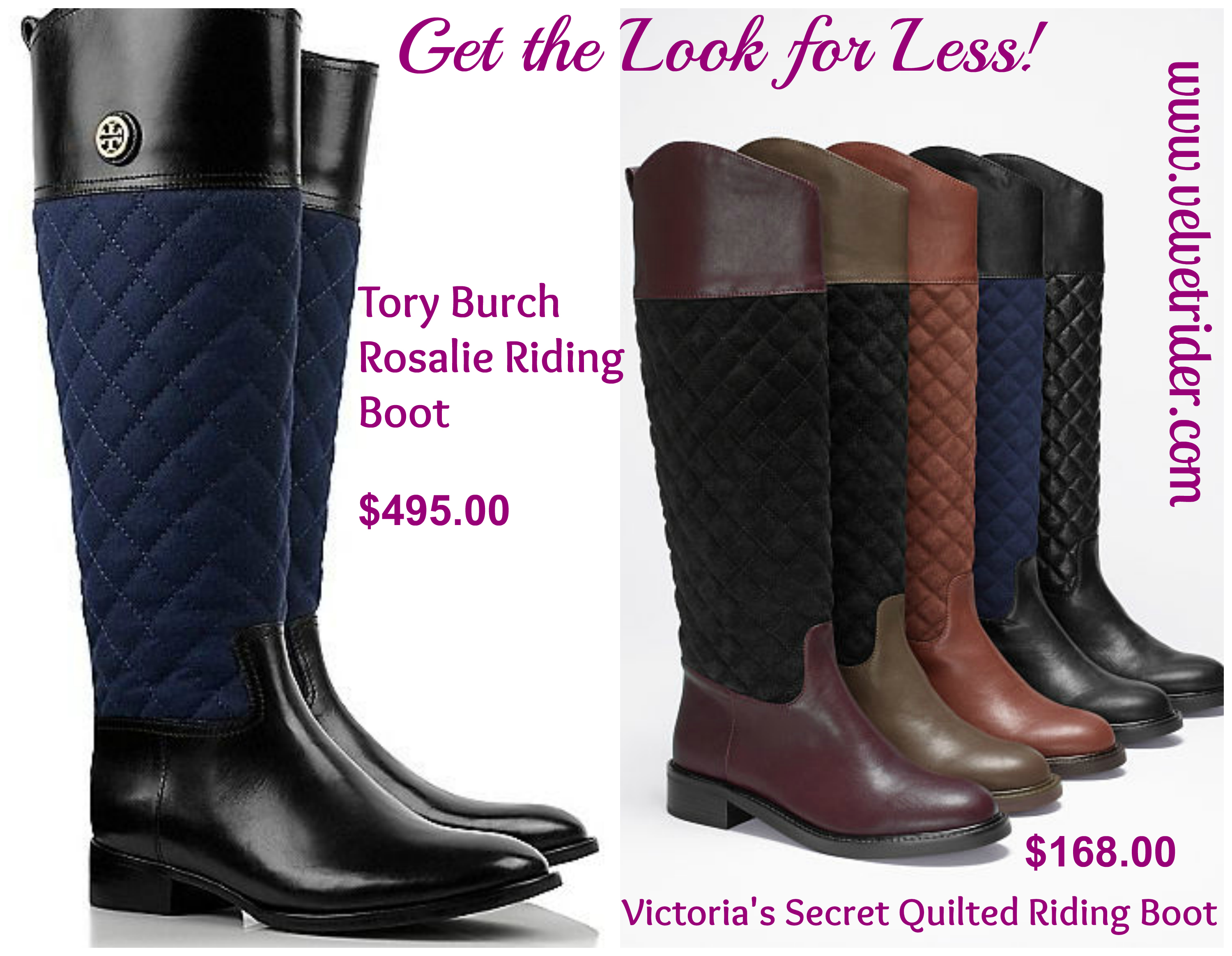 5e5ef652a9e ... Quilted Riding Boot from Victoria s Secret! GTLFL TB