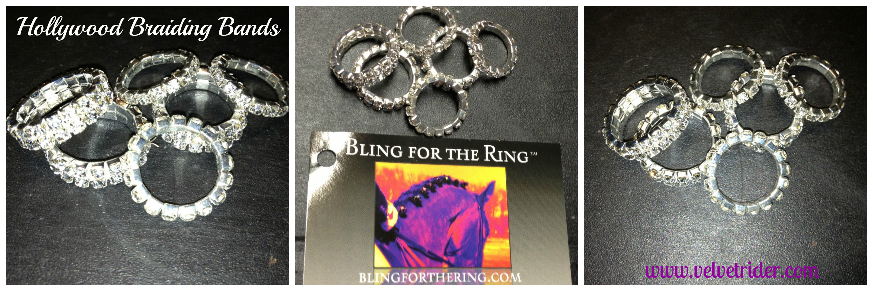 review bling for the ring rhinestone braiding bands velvet rider