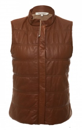 Jetsetter Leather Vest