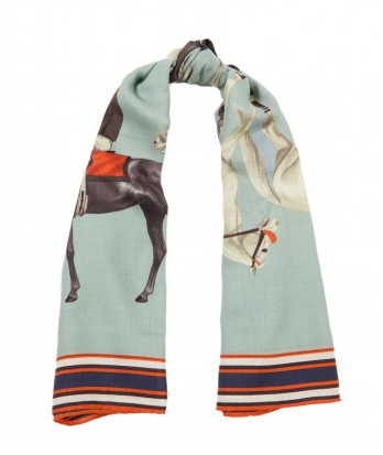 polo cashmere wool scarf 2