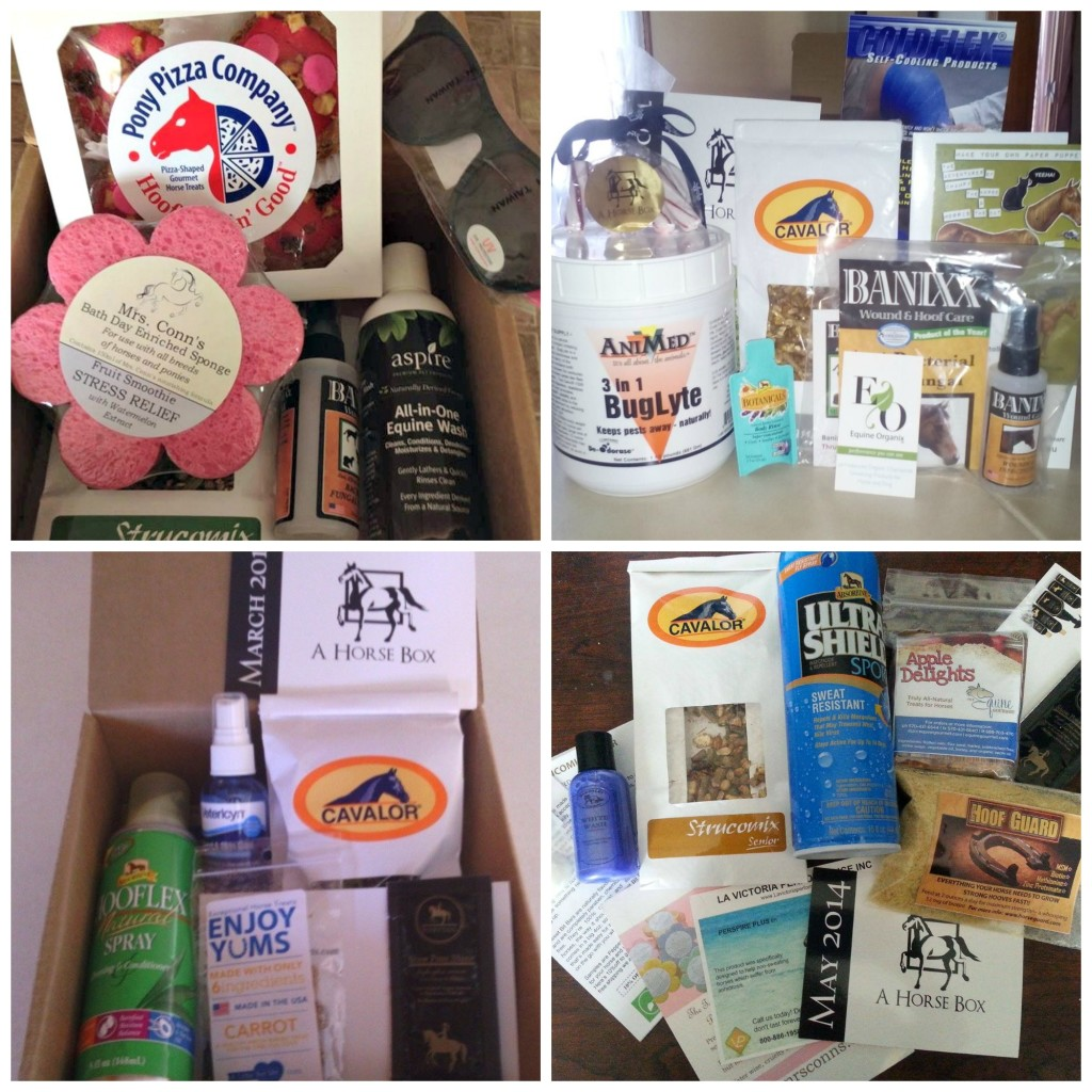 AHB subscriber box Collage